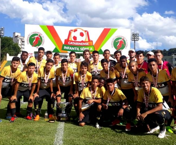 Tigre é vice no Catarinense Sub-15